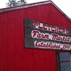 Photo taken at Pletchers farm market by Dana B. on 8/3/2013