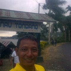 Photo taken at Danau Tondano by Dias H. on 9/27/2014