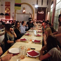 Photo taken at Pizzeria Birmana 2 - La Fonderia by Alessandro P. on 10/25/2013