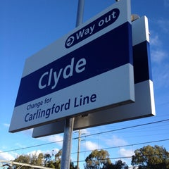 Photo taken at Clyde Station by Peter S. on 6/29/2014