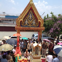 Photo taken at วัดหนองจะบก by Kamol P. on 4/21/2013