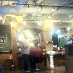 Photo taken at Tweed Barbers of Boston by Alex A. on 4/7/2014