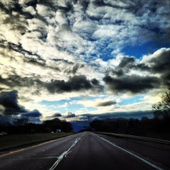 Photo taken at I-80 by Zach E. on 11/3/2012