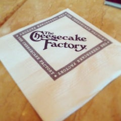 Photo taken at The Cheesecake Factory by Zach E. on 3/16/2013