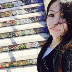 Photo taken at Hidden Garden Mosaic Steps by Ceres AnaSéline C. on 10/12/2015