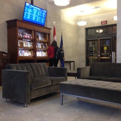 Photo taken at VIA Rail Business Lounge - Union Station by Jean-Philippe V. on 5/22/2014