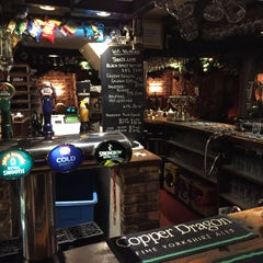 Photo taken at The Anchor Inn by Johan on 1/3/2015