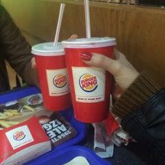 Photo taken at Burger King by Ebru T. on 1/29/2016