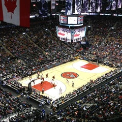 Photo taken at Air Canada Centre by Karina C. on 3/10/2013