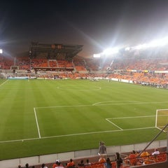 Photo taken at BBVA Compass Stadium by Moses S. on 10/24/2012