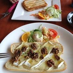 Photo taken at Croissanterie & Restaurant Thiemsbrug by Kathy G. on 3/13/2013