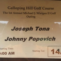 Photo taken at Galloping Hill Golf Course by John P. on 9/29/2014