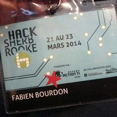 Photo taken at Université de Sherbrooke by Fabien B. on 3/21/2014