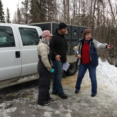 Photo taken at Iditarod Race Headquarters by Sarah D. on 2/26/2014