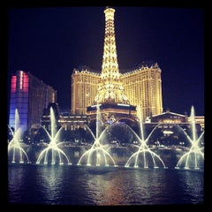 Photo taken at Fountains of Bellagio by Miguel on 7/28/2013