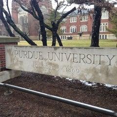 Photo taken at Purdue University by Hyejin P. on 2/27/2013