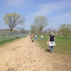 Photo taken at Eau Claire Dog Park by Jeanny H. on 5/20/2014