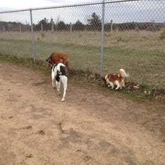 Photo taken at Eau Claire Dog Park by Jeanny H. on 4/28/2014