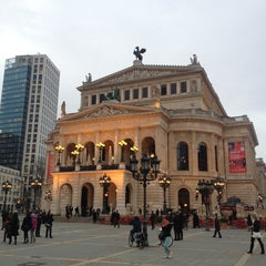 Photo taken at Alte Oper by Alan Z. on 4/11/2013