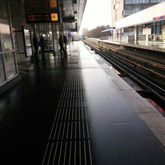 Photo taken at Metrostation Hoogvliet [C, D] by Peter G. on 1/23/2016