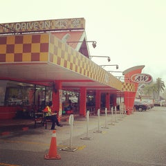Photo taken at A&W by Zam N. on 4/3/2013