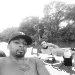 Photo taken at Don's Fish Camp by Michael G. on 7/25/2014