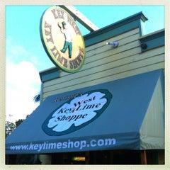 Photo taken at Kermit's Key West Key Lime Shoppe by hArri on 11/7/2012
