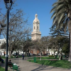 Photo taken at Plaza de Armas by Miguel G. on 6/20/2013