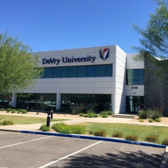 Photo taken at DeVry University Phoenix Campus by Timothy P. on 4/28/2015