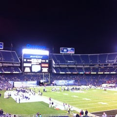 Photo taken at San Diego County Credit Union Poinsettia Bowl by Metro Bear on 12/27/2013