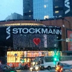 Photo taken at Stockmann by Olga T. on 1/4/2013