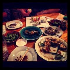 Photo taken at Hon Machi Sushi & Cocktails by Jordan N. on 12/28/2012