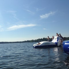 Photo taken at Madden's Resort on Gull Lake by Cobey R. on 8/31/2013