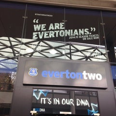 Photo taken at Everton Two Official Club Store by Knut-Arne F. on 4/16/2014