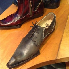 Photo taken at John Fluevog Shoes by Eric W. on 12/11/2012