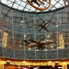 Photo taken at Concourse A by katya V. on 12/22/2012