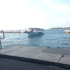 Photo taken at Airport Ferry Ticket Booth by Nasheed A. on 2/28/2013