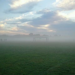 Photo taken at Joyce Park FOSC Fields by Eric S. on 9/16/2012