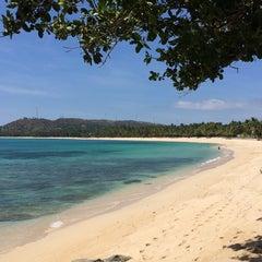 Photo taken at Apo Idon Beach Resort by Tina S. on 7/12/2014