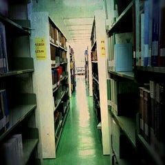 Photo taken at สำนักหอสมุด (Library) by ZAACCANDID on 4/8/2012