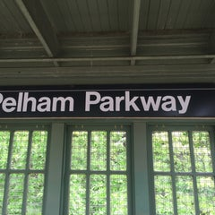 Photo taken at MTA Subway - Pelham Parkway (2/5) by Jason A. on 5/19/2015