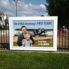 Photo taken at Neil Armstrong's First Flight by Lyle A. on 7/21/2014