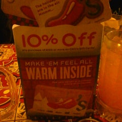 Photo taken at Chili's Grill & Bar by Geralyn C. on 12/31/2012