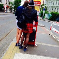 Photo taken at Metro =C= Nádraží Holešovice by Barbora V. on 5/21/2015