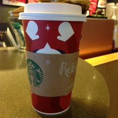 Photo taken at Starbucks by Pete S. on 12/29/2012