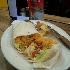Photo taken at Villa Pancho Taqueria by Aaron J. on 5/29/2014