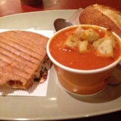 Photo taken at Panera Bread by Rhea B. on 7/12/2014