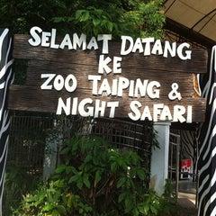 Photo taken at Zoo Taiping & Night Safari by Dina A. on 11/18/2012