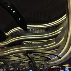 Photo taken at Marina Bay Sands Casino by Aaron H. on 11/3/2012