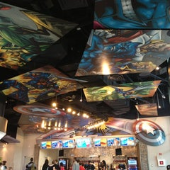 Photo taken at Captain America Diner by Karina F. on 1/21/2013